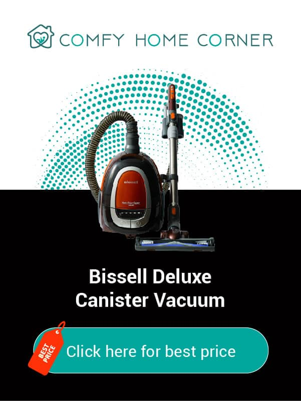 Bissell Deluxe Canister VacuumBissell Deluxe Canister Vacuum
