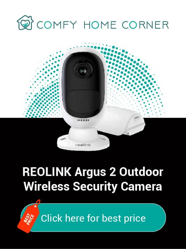 REOLINK Argus 2 Outdoor Wireless Security Camera