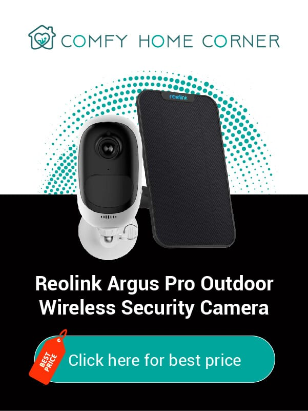 Reolink Argus Pro Outdoor Wireless Security Camera