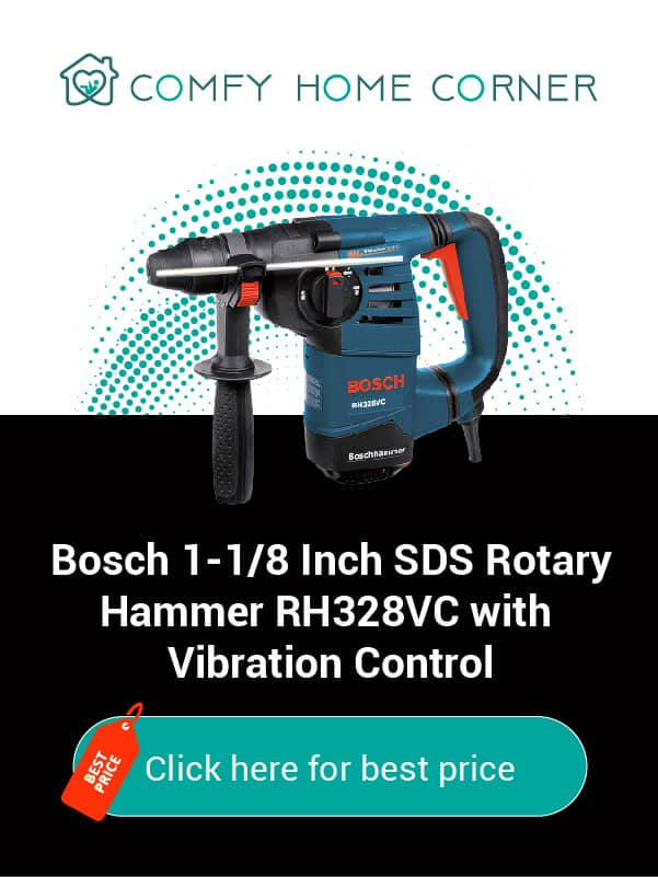 Bosch 1-1/8 Inch SDS Rotary Hammer RH328VC with Vibration Control