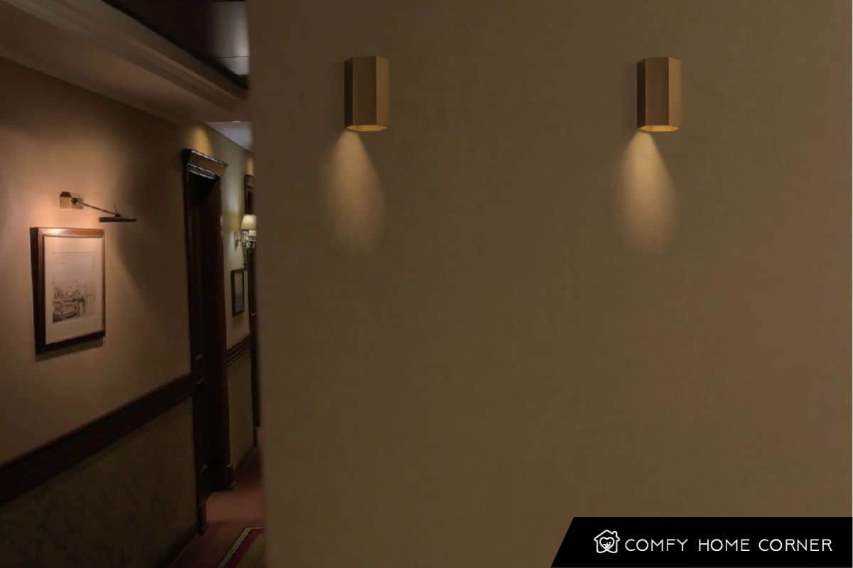 Soft Light of Wall Sconces