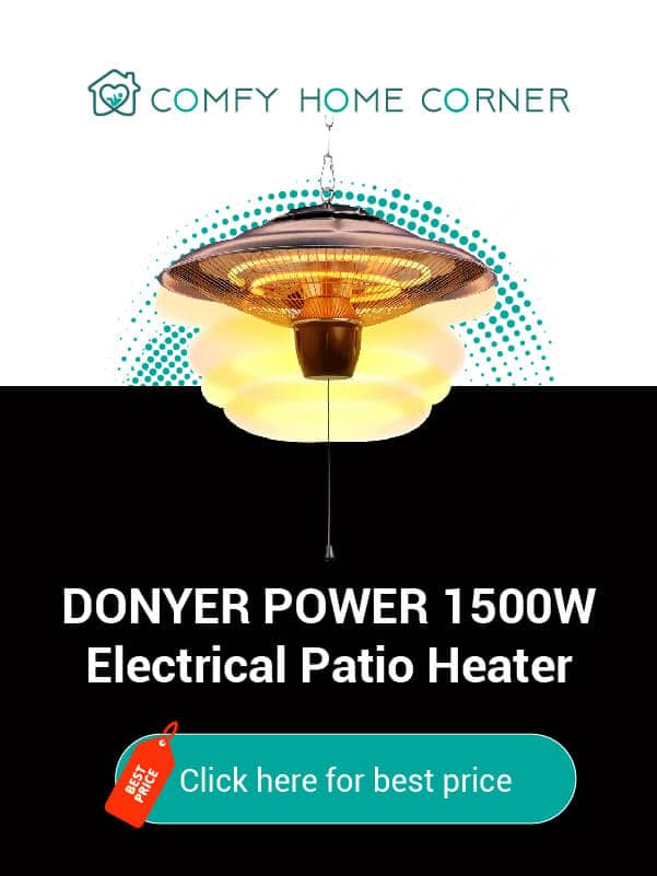 DONYER POWER HCH502 Electrical Patio Heater